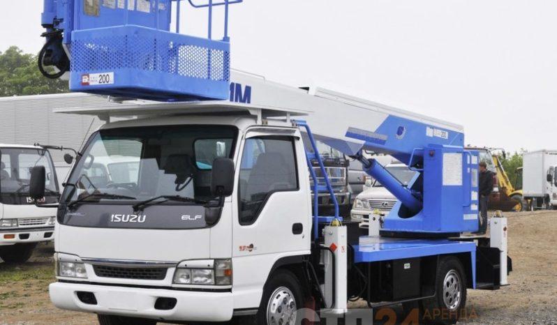 Автовышка Isuzu ELF — 15 метров full