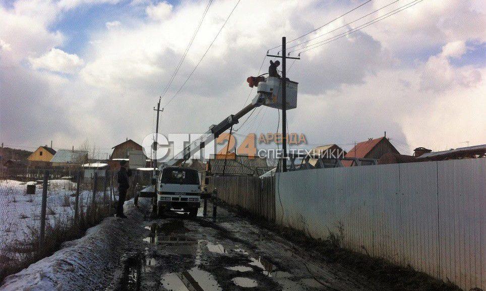 Услуги автовышки в Екатеринбурге