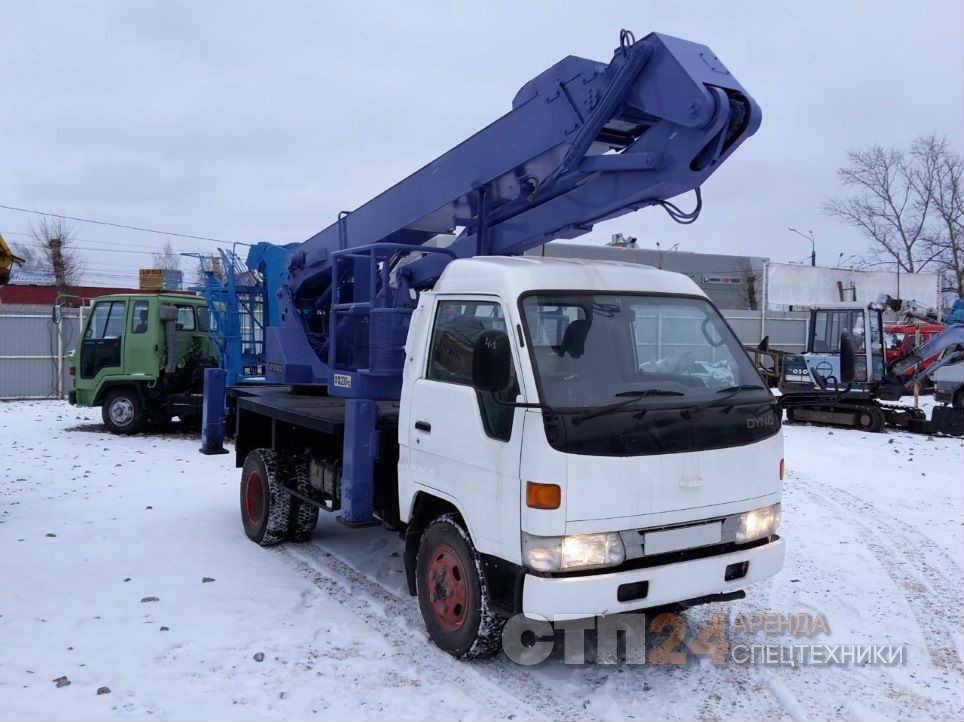 Аренда автовышки 13 метров в Екатеринбурге