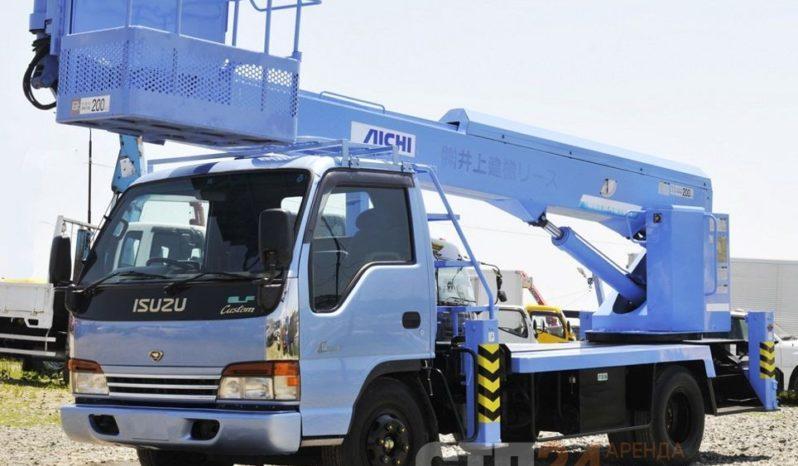 Автовышка Isuzu ELF — 17 метров full