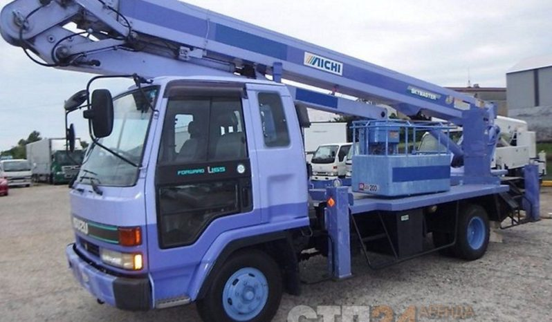 Автовышка Isuzu FORWARD — 24 метра full