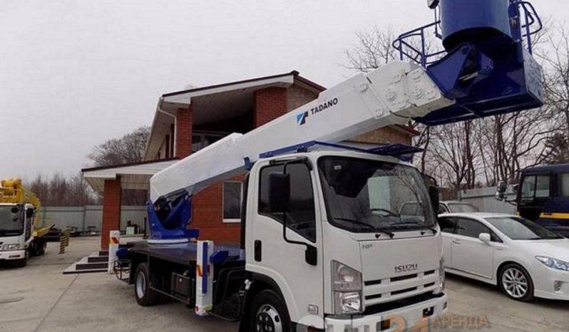 Автовышка Isuzu FORWARD — 25 метров full