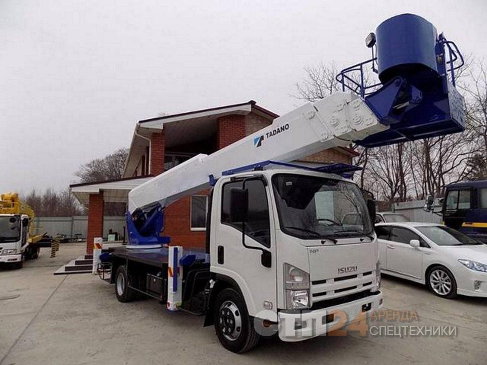 Аренда автовышки 25 метров в Екатеринбурге